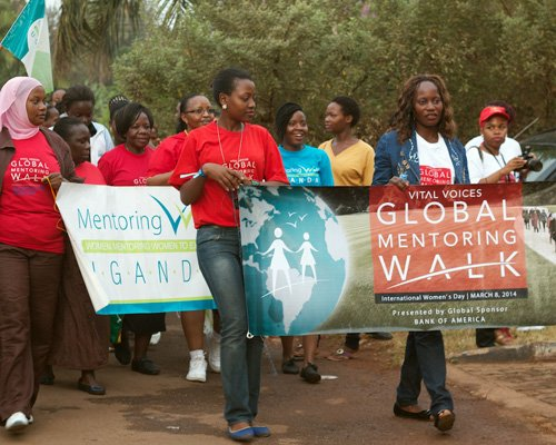 womens day mentoring walk