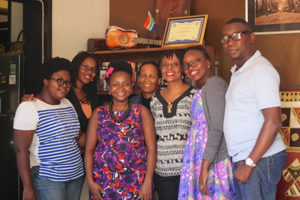 Jackee and the students on 25th February 2017 One Day Book Writing Masterclass